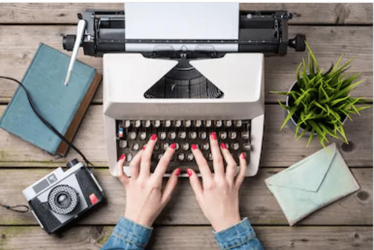 Typewriter - write your own book